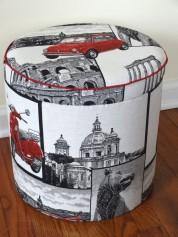Storage pouf, La Dolce Vita- Designed by Sophie Bailly