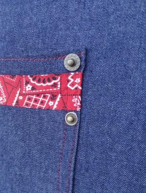 bandana pocket detail